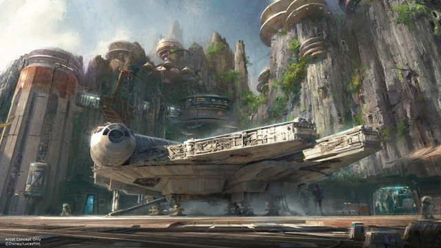 Star Wars: Galaxy Edge's Disney park ride names, more details revealed