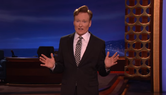 Conan bids farewell to hour-long format, plugs new podcast