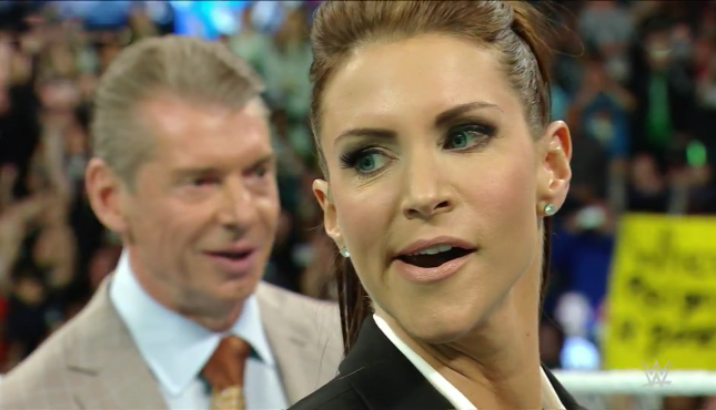 Stephanie McMahon and Vince McMahon - Vito