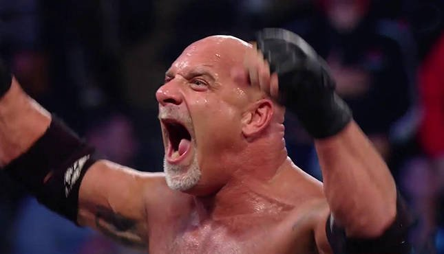 Goldberg WWE WCW