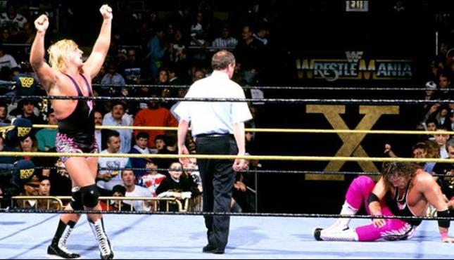 Bret Hart Owen Hart WrestleMania X
