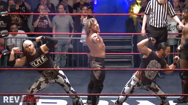 The ELITE PWG Kenny Omega The Young Bucks ROH TV