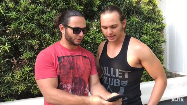 Young Bucks NJPW ROH Matt Jackson