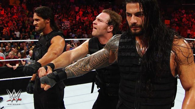 The Shield Roman Reigns Seth Rollins WWE