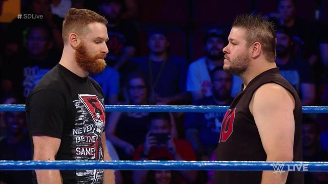 WWE Smackdown Viewership Rises With Sami Zayn vs. Kevin Owens Main Event
