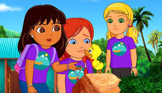Michael Bay is making a live action 'Dora the Explorer' movie