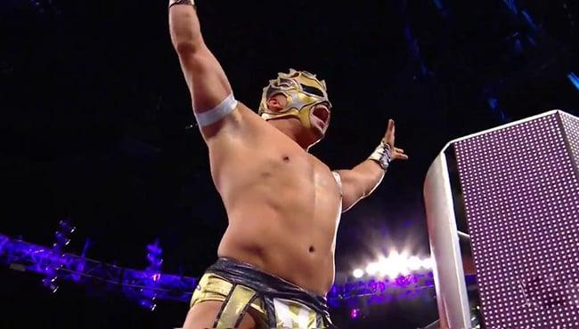 Kalisto WWE Raw 100217 WWE 205 Live, Lucha House Party