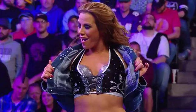 Mickie James WWE TLC Mothers