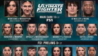 Ultimate Fighter 26 Finale tuf 26 - Nicco Montano - Ryan Janes Gillain Robertson Rachael Ostovich