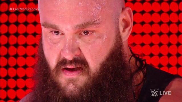 Braun Strowman's Braun Strowman WWE Raw 1.29.18