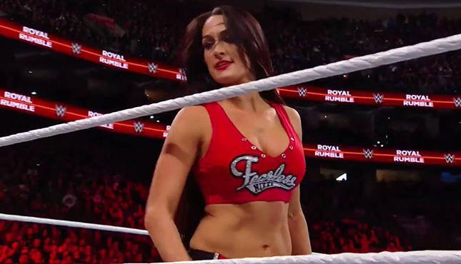 Nikki Bella Royal Rumble 2018
