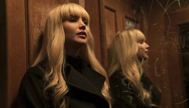 Jennifer Lawrence is a Russian spy in Red Sparrow trailer