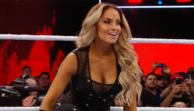 Trish Stratus WWE Royal Rumble 2018