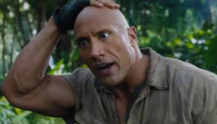 The Rock Jumanji