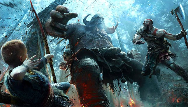 New God of War Preview Shows-Off Fifteen Minutes of New Gameplay