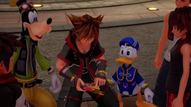 Kingdom Hearts 3 Has Classic '80s LCD Platformers As Mini-Games