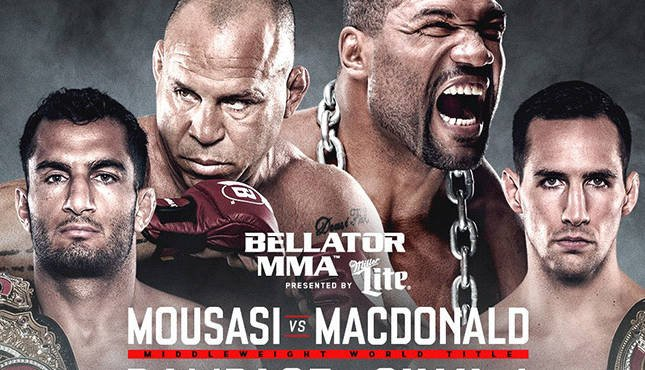 Bellator Mousasi MacDonald