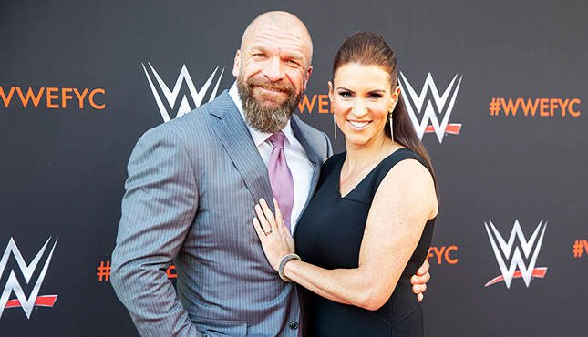 Stephanie McMahon Triple H WWE Emmy