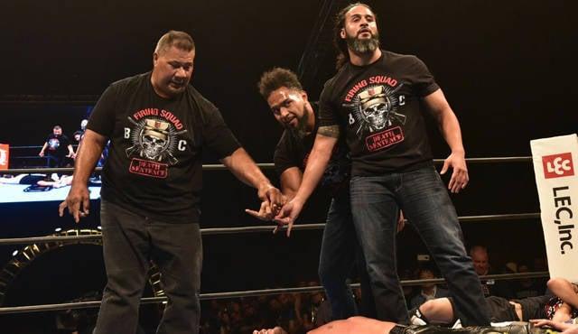 NJPW Firing Squad Bullet Club OG