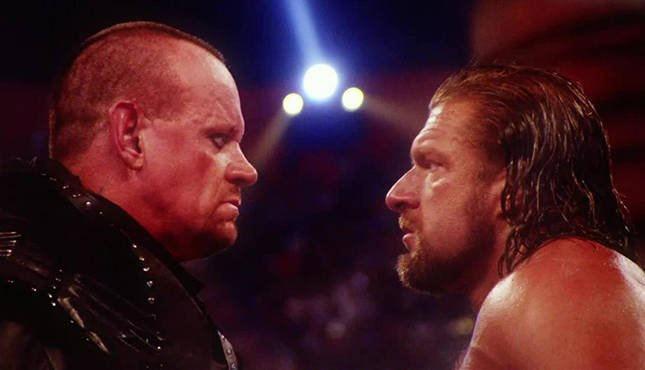 Undertaker Triple H WWE