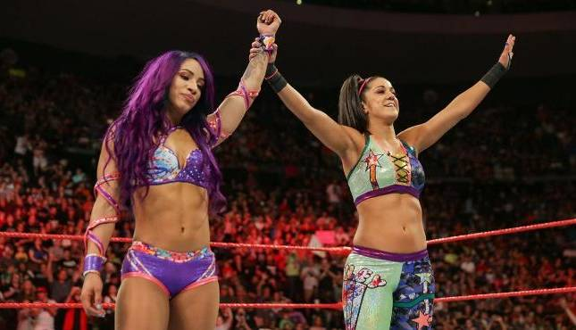 Sasha Banks Bayley WWE