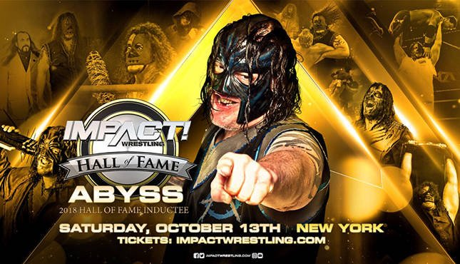Abyss' Abyss Impact Wrestling Hall of Fame