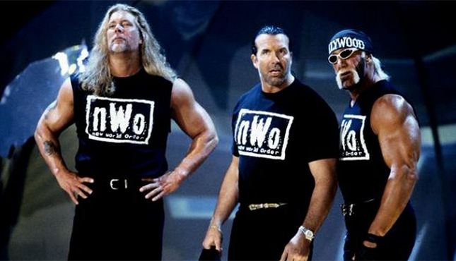 nWo Kevin Nash Scott Hall Hulk Hogan