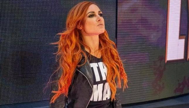 WWE Becky Lynch Raw 2-4-16