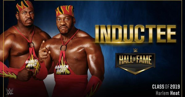 Booker T Stevie Ray Harlem Heat WWE Hall of Fame
