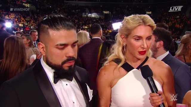 Charlotte Flair Superstar Shakeup Andrade