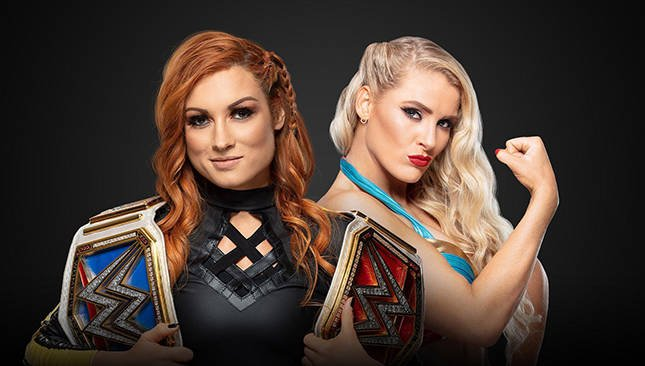 Money in the Bank Becky Lynch Lacey Evans