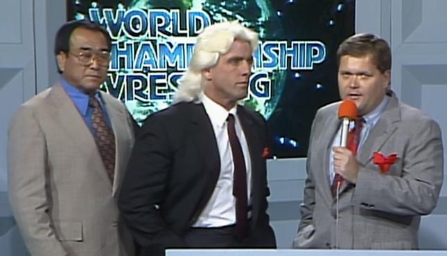 Ric Flair World Championship Wrestling 3-11-89