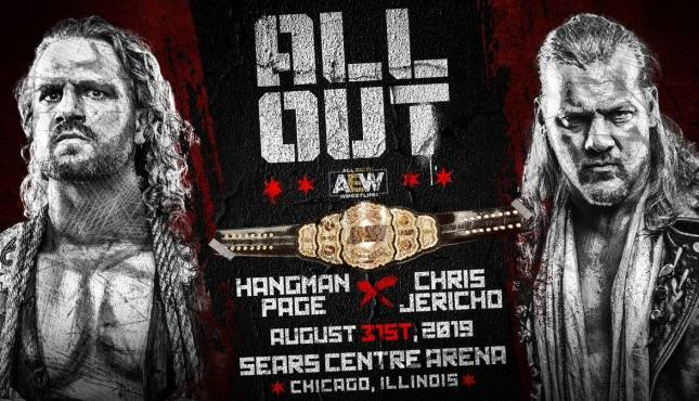 AEW All Out Chris Jericho Adam Page OWE