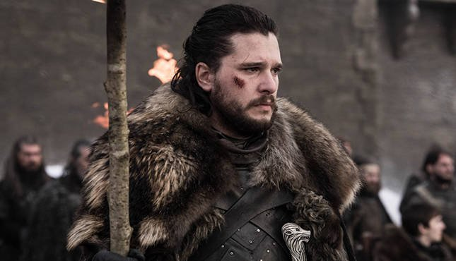 Game of Thrones 8-04 Jon Snow