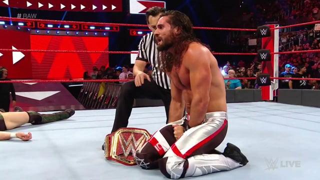 WWE Raw Seth Rollins