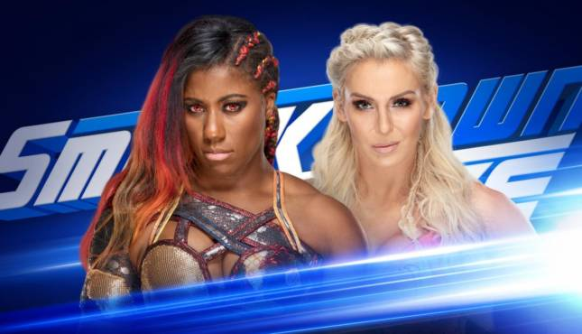 Charlotte Flair Ember Moon Smackdown