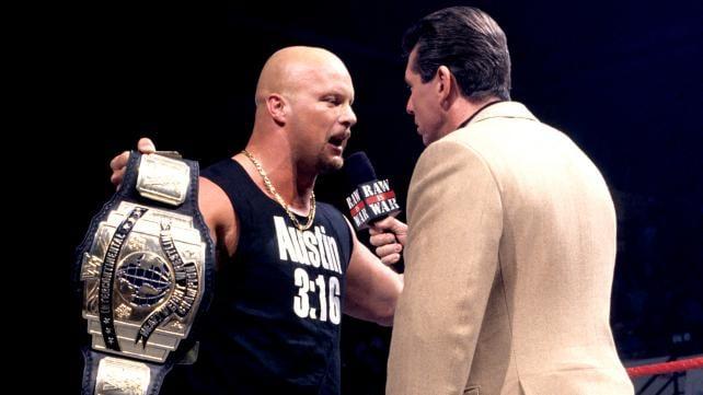 Steve Austin Vince McMahon 1997 WWE