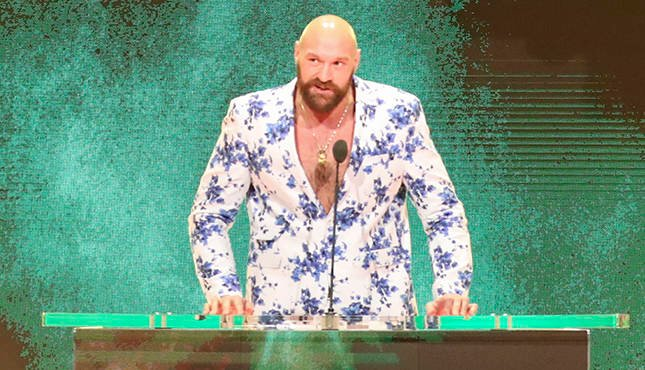 Tyson Fury WWE Crown Jewel