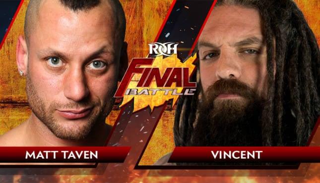 Matt Taven Vincent ROH Final Battle