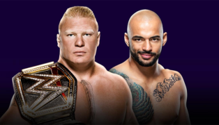 Brock Lesnar Ricochet WWE Super ShowDown