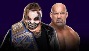 WWE Super ShowDown Bray Wyatt vs. Goldberg