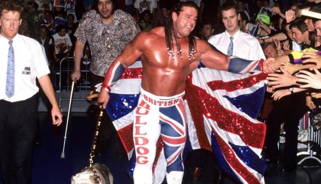 Davey Boy Smith British Bulldog