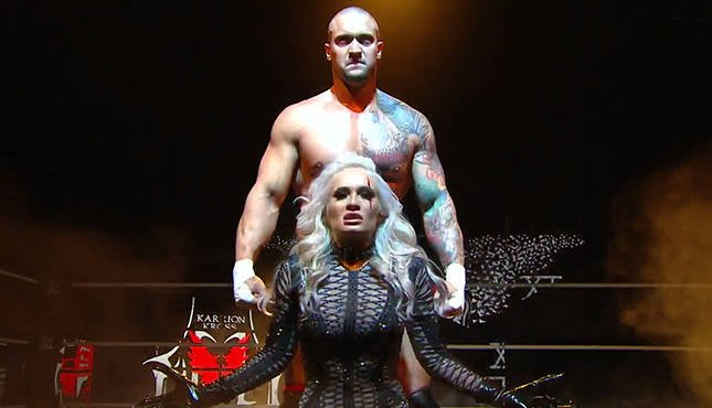 Karrion Kross Scarlett NXT Takeover: In Your House