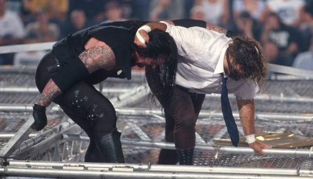 Mick Foley Undertaker Hell in a Cell