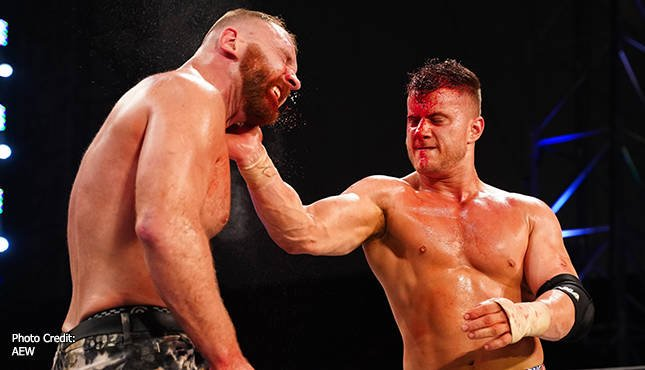 AEW All Out Jon Moxley MJF