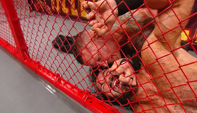 Randy Orton Drew McIntyre Hell in a Cell