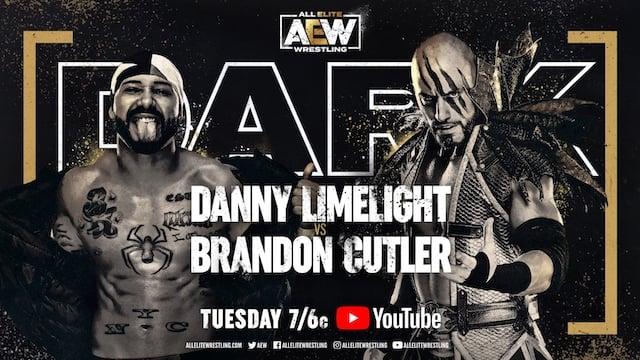AEW Dark Danny Limelight vs. Brandon Cutler