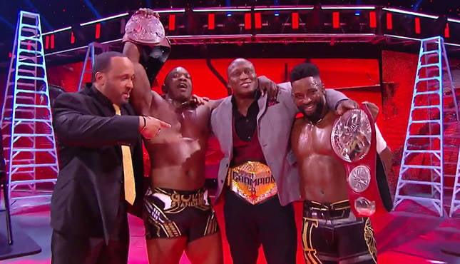 WWE TLC Hurt Business Shelton Benjamin