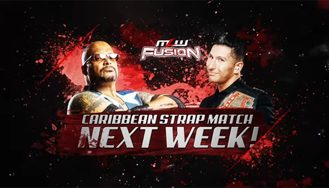 MLW: Fusion Caribbean Strap Match