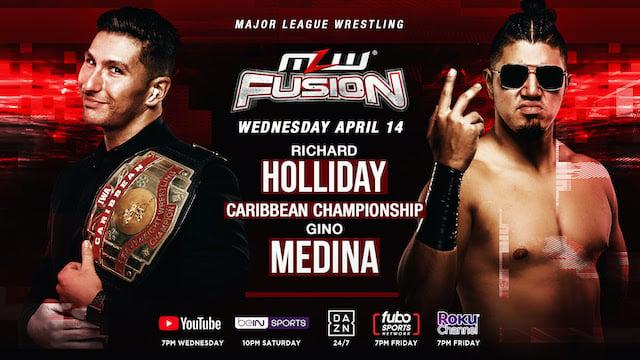 MLW Gino Medina vs. Richard Holliday